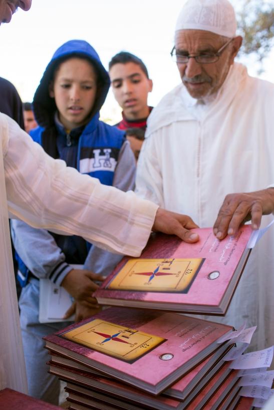 utdeling ab bøker - nacer AIT ABDI